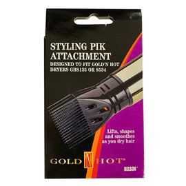 Gold 'N Hot *CLOSEOUT* Gold 'N Hot Styling Pick Hair Dryer Attachment Fits 8135, 8534