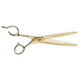 "BabylissPRO BabylissPRO Barberology 7"" Barber Thinning Shears Gold"