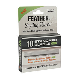 Feather Feather Styling Razor 10pc Standard Blades R-Type