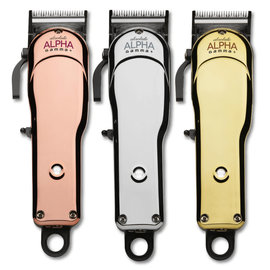 Gamma+ Gamma+ Absolute Alpha Adjustable Blade Corded/Cordless Clipper w/ Guides + 3 Cover Lids