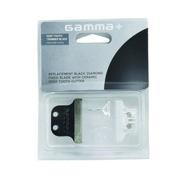 Gamma+ Gamma+ Replacement Black Diamond Fixed Trimmer T-Blade w/ Ceramic Deep Tooth Cutter
