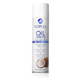 Isoplus Isoplus Oil Sheen Light Hair Spray w/ Coconut Oil 9oz