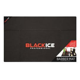 "Black Ice Black Ice Professional Barber Station Mat Anti-Slip & Heat Resistant 17.7""W x 11.8""H"