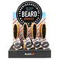 Black Ice Black Ice 100% Boar Bristle Beard Brush 12pcs Display [CS]