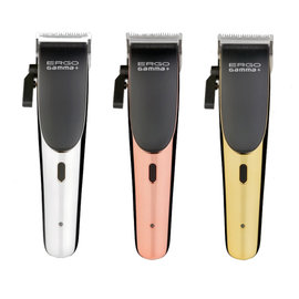 Gamma+ Gamma+ Ergo Modular w/ Turbocharged Magnetic Motor Adjustable Blade Cordless Clipper w/ Guides + 3 Cover Lids