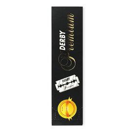 Derby Derby Premium Double Edge Barber Razor Blades Platinum 100pcs