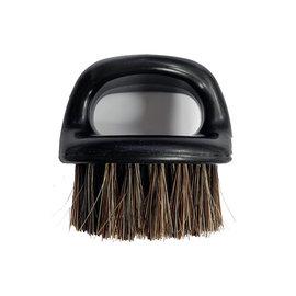 Men Grooming Barber Pro 100% Horsehair Finger Brush Duster