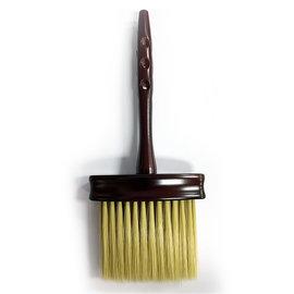 """Mr Barber Mr Barber 9"""" Long Wooden Handle Neck Duster w/ Soft Bristles"""