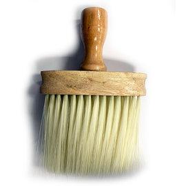 """Mr Barber Mr Barber 6-1/4"""" Stand Up Wooden Handle Neck Duster"""