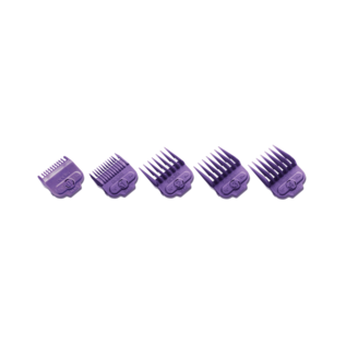 Andis Andis Single Magnetic Comb Set Purple Guides #0-4 ML