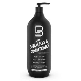 Level3 Level3 [LV3] 2in1 Shampoo & Conditioner 33.8oz | 1000ml