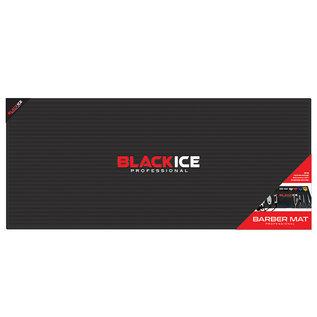 "Black Ice Black Ice Professional Barber Station Mat Anti-Slip & Heat Resistant XL 30""W x 13""H"
