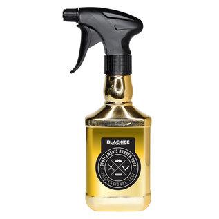 Black Ice Black Ice Gentlemen's Barber Shop Trigger Sprayer Bottle 10oz Gold