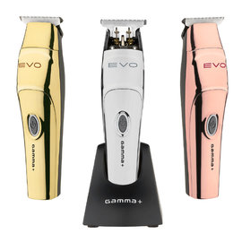 Gamma+ Gamma+ Evo Modular Magnetic Motor Corded/Cordless Trimmer w/ Guides + 3 Cover Lids