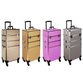 2-in-1 Glitter Rolling Beauty Hard Case