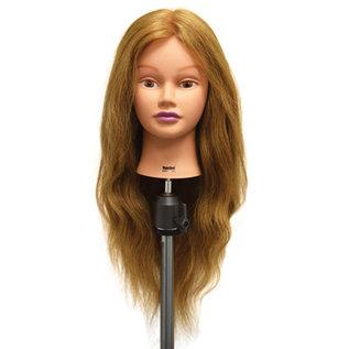 "Celebrity Celebrity Rachel Manikin Up to 26"" Blonde Human Hair"