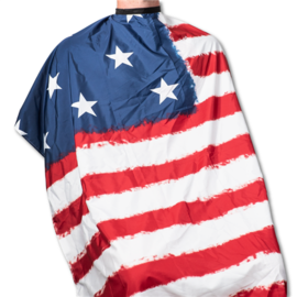"""Campbell's Campbell's USA Flag Styling Cape Snap Closure 45""""x60"""""""