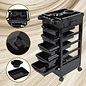 Byootique Byootique Salon SPA Trolley Storage Cart Coloring Beauty Salon Hair Dryer Holder