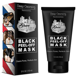 Shave Factory Shave Factory Deep Cleansing Black Peel-Off Mask 5oz