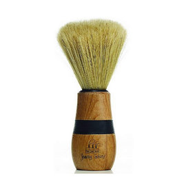 Shave Factory Shave Factory Wooden Handle Neck Duster w/ Small Rubber Grip