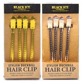 Black Ice Black Ice Signature Series Stylish Duckbill Hair Clips