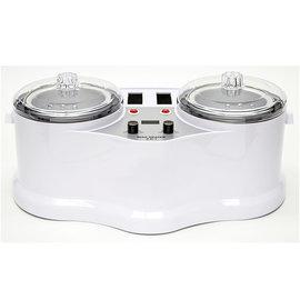 FantaSea 4-in-1 Double Pots & Double Cartridge Heaters Wax Warmer