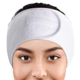 Niso Niso Terry Cloth Facial Headband White