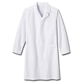 Niso Niso Official Labcoat White