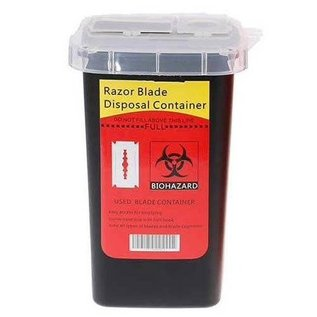 Black Ice Razor Blade Disposal Sharps Container