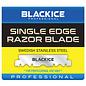 Black Ice Black Ice Single Edge Barber Razor Blade 100pcs