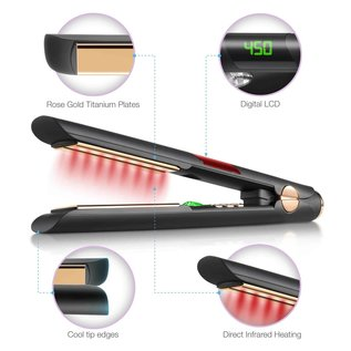 """Sutra Beauty Sutra Supreme IR2 Infrared Flat Iron 1"""""""