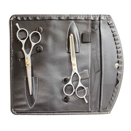 Niso Niso Economy Cutting & Thinning Shear Set w/ Case Right Handed