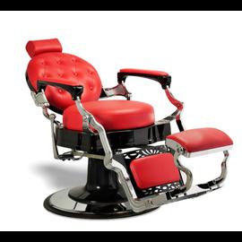Wilson Barber Salon Styling & Shaving Chair Red