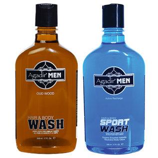 Agadir Agadir Men Hair & Body Wash 17oz