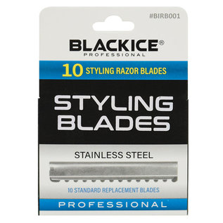 Black Ice Black Ice Replacement Standard Styling Razor Blade 10pcs