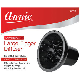 Annie Annie Large Finger Diffuser Attachment Universal Fit for Hair Blow Dryer