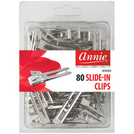 Annie Annie Slide-In All Purpose Clips Nickel Plated 80ct