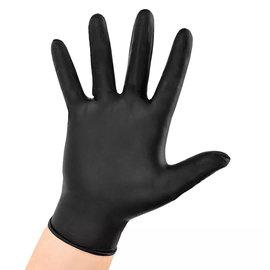Shadow Shadow Black Nitrile Powder Free Examination Gloves 100pcs