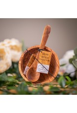 OLIVE WOOD COLLECTION DIPPING SET