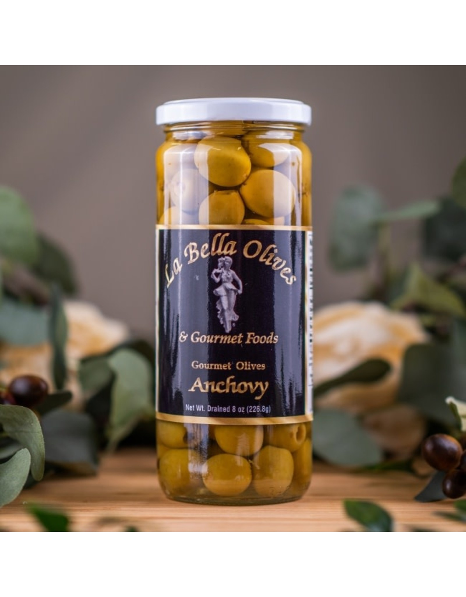 La Bella Olives ANCHOVY STUFFED OLIVES