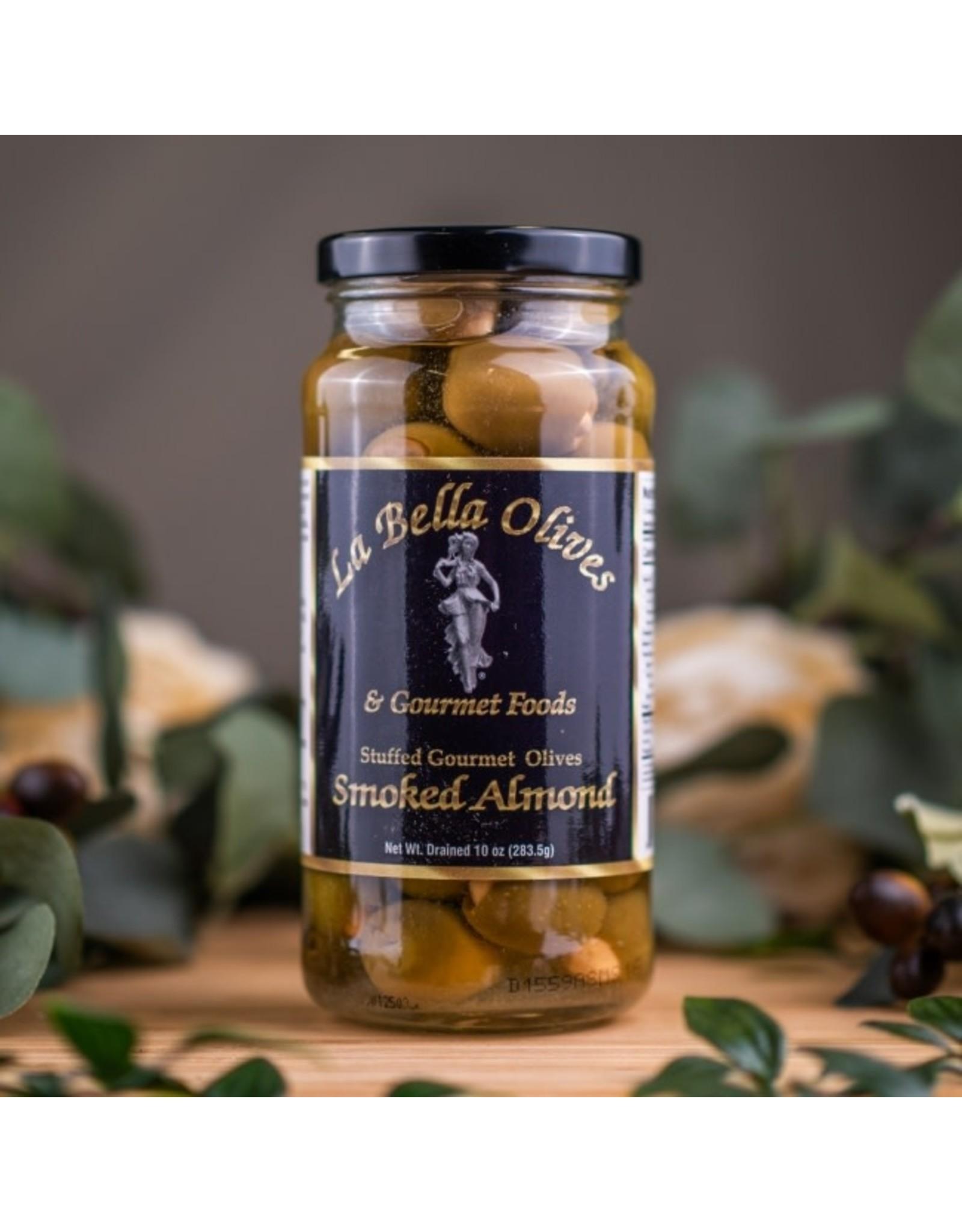 La Bella Olives SMOKED ALMOND STUFFED OLIVES