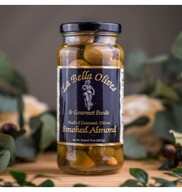 La Bella Olives SMOKED ALMOND STUFFED OLIVES