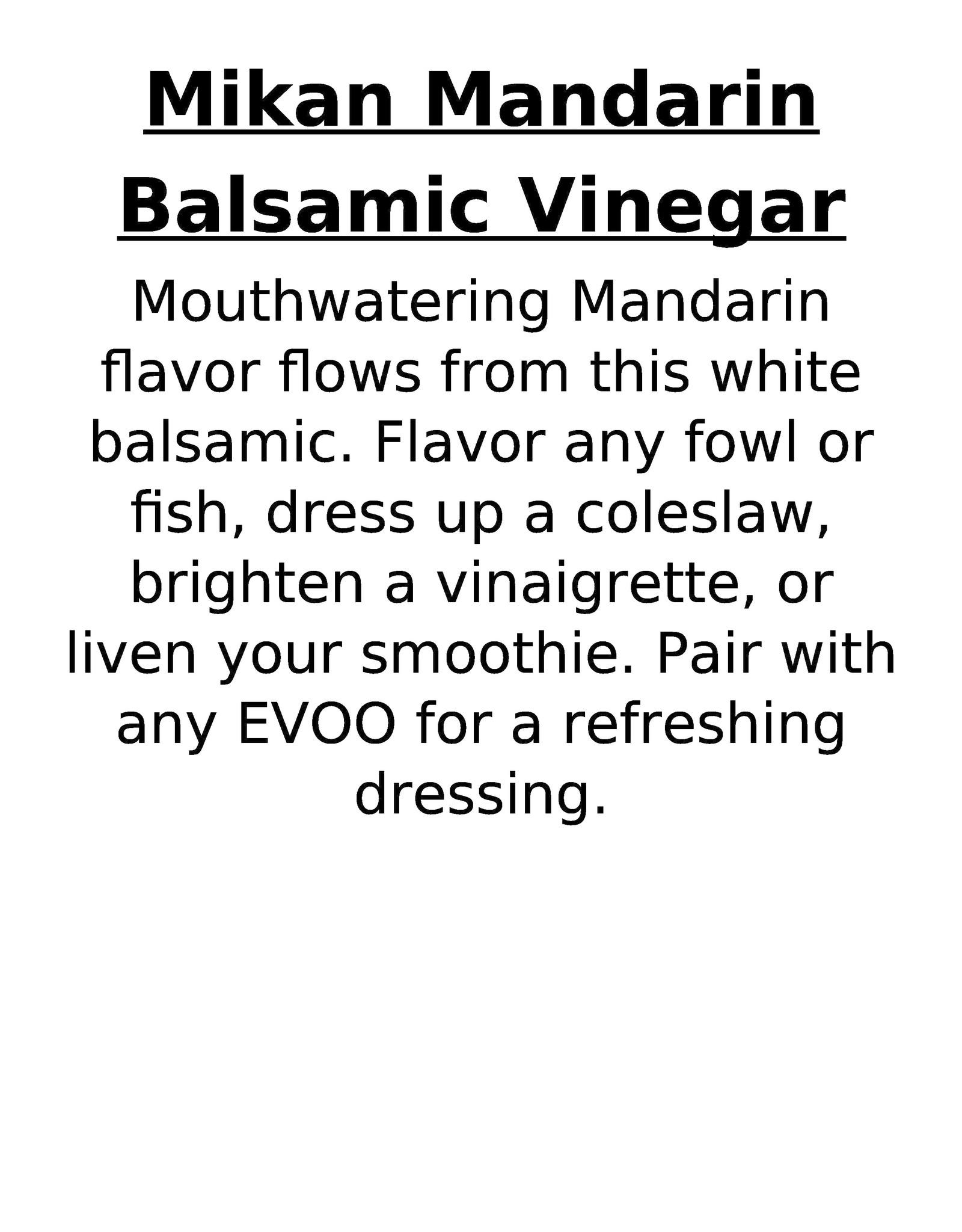 Balsamic Refill
