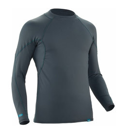 NRS NRS H2Core Rashguard L/S - Mens XS Dark Shadow