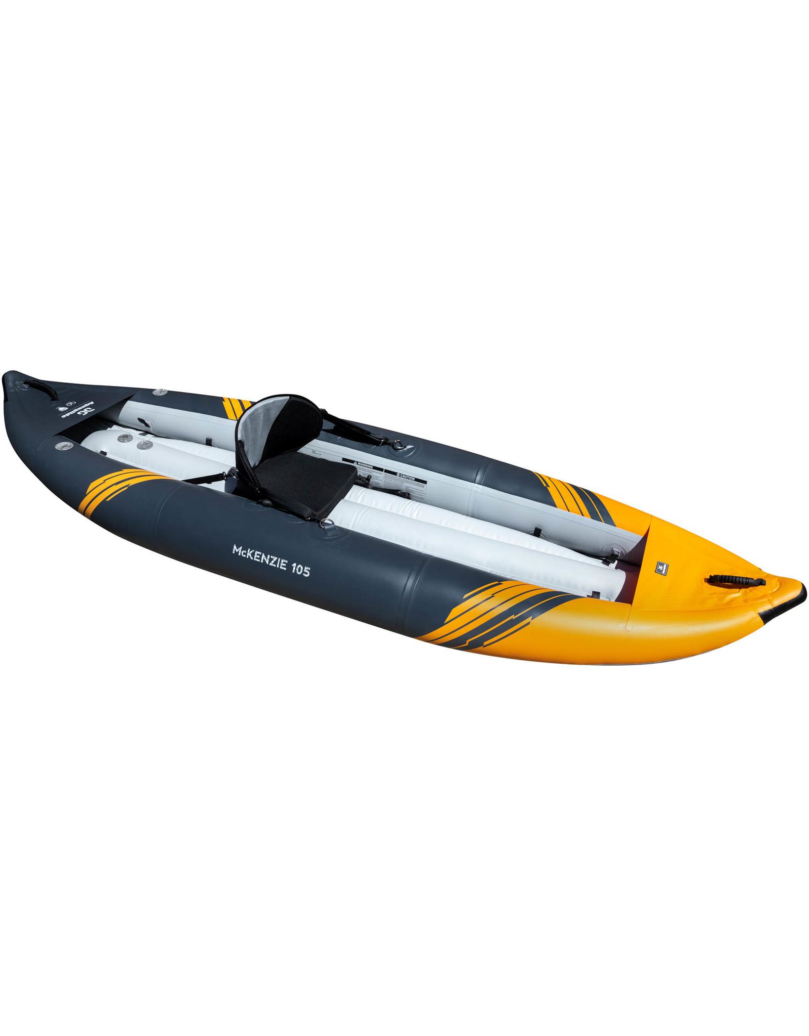Aquaglide Aquaglide Mckenzie 105 Inflatable Solo Kayak