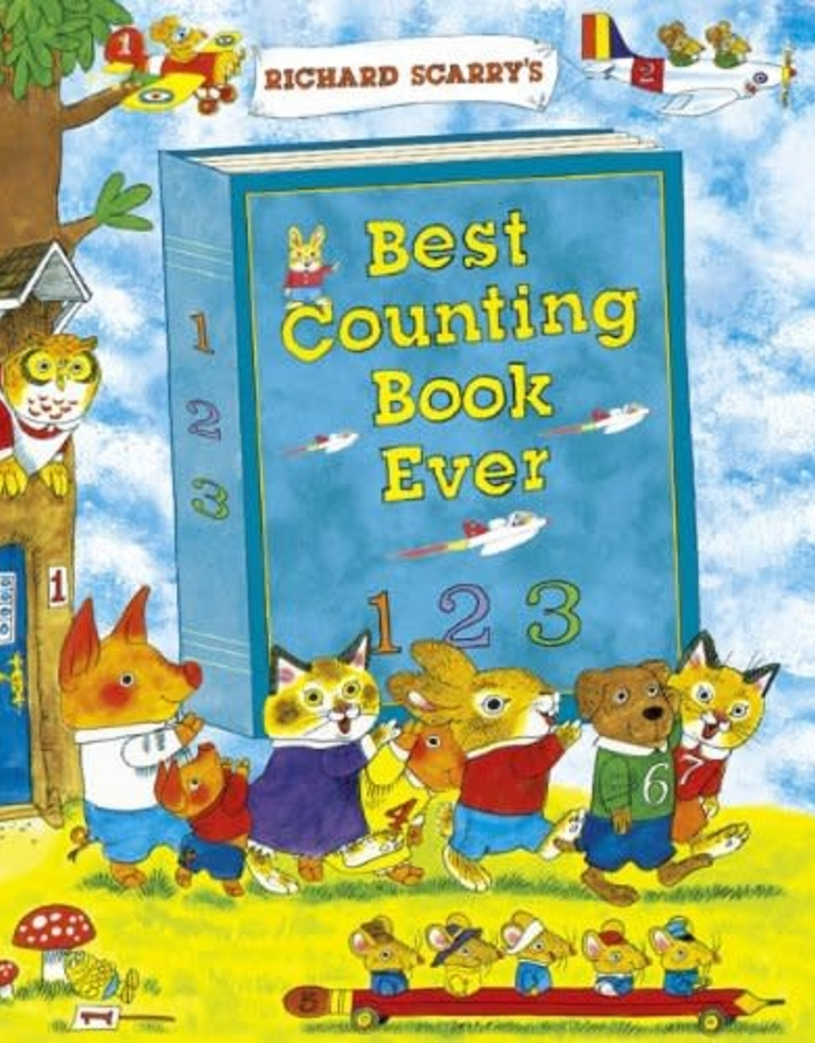 Richard Scarry Best Counting Book Ever by Richard Scarry