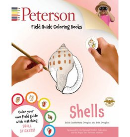 Peterson Shells - Field Guide Coloring Book by Peterson