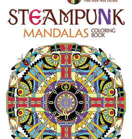 Creative Haven Steampunk Mandalas Coloring Book by Creative Haven