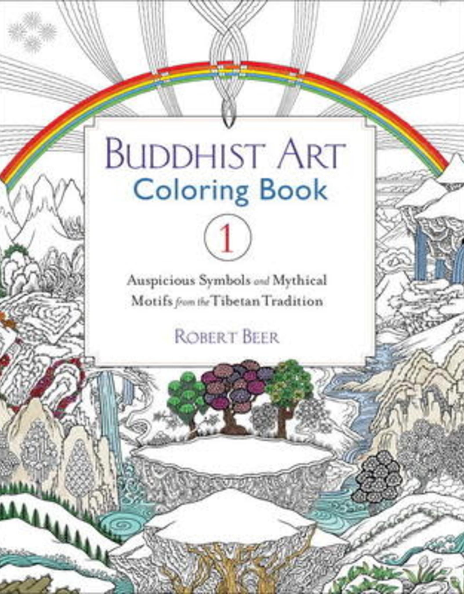 Buddhist Art Buddhist Art Coloring Book 1