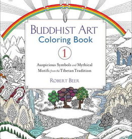 Buddhist Art Buddhist Art Coloring Book 1